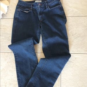 Loft, Made and Love, size 4 blue jeans